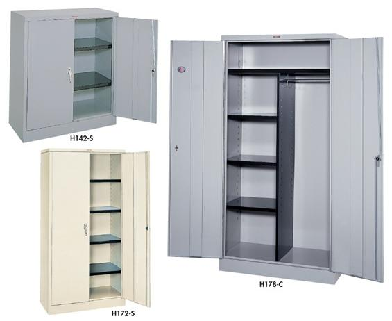 SET UP STORAGE CABINETS