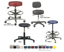 ROUND STOOL CASTER SETS